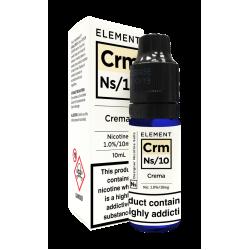 Element NS10 Nic Salt - Crema 10mg - E liquid 10ml