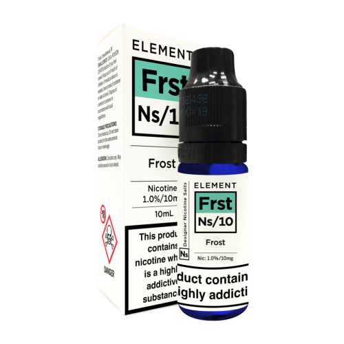 Element NS10 Nic Salt - Frost 10mg - E liquid 10ml