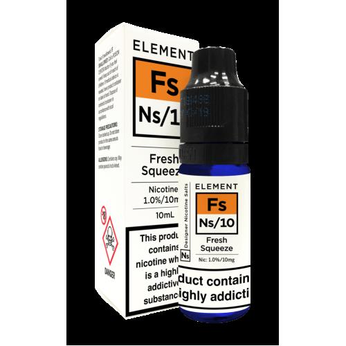 Element NS10 Nic Salt - Fresh Squeeze 10mg - E liquid 10ml