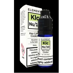 Element NS10 Nic Salt - Key Lime Cookie 10mg - E liquid 10ml