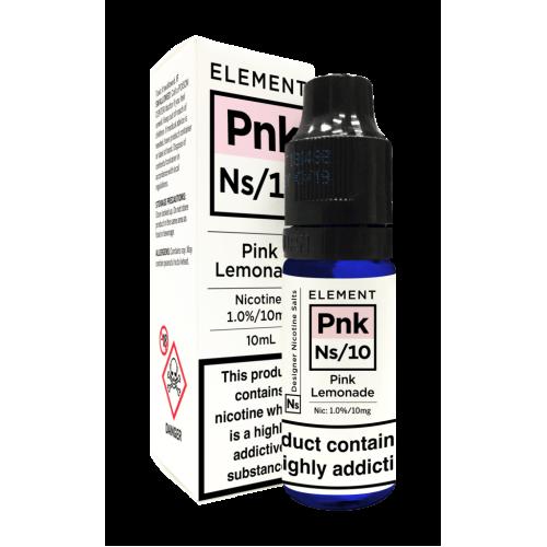 Element NS10 Nic Salt - Pink Lemonade 10mg - E liquid 10ml