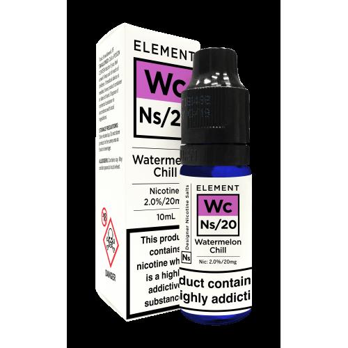 Element NS20 Nic Salt - Watermelon Chill 20mg - E liquid 10ml