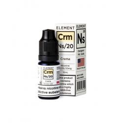 Element NS20 Nic Salt - Crema 20mg - E liquid 10ml