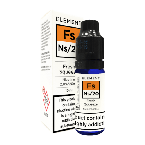 Element NS20 Nic Salt - Fresh Squeeze 20mg - E liquid 10ml
