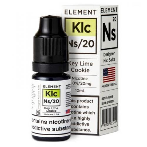 Element NS20 Nic Salt - Key Lime Cookie 20mg - E liquid 10ml