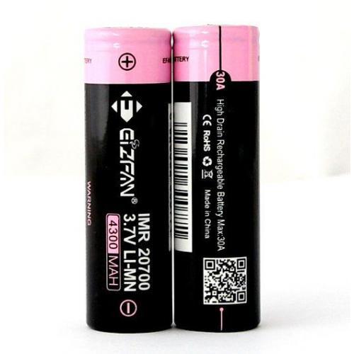 Efan IMR 20700 4300mah 30A Lithium Battery