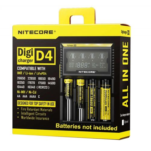 NItecore Intellicharger D4 - Battery Charger