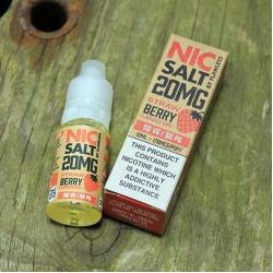 Flawless Nic Salt - Strawberry 20mg - E liquid 10ml