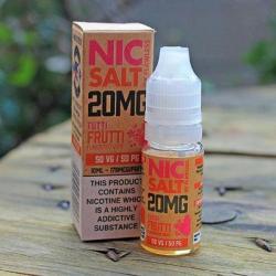 Flawless Nic Salt - Tutti Frutti 20mg - E liquid 10ml
