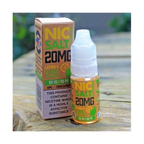 Flawless Nic Salt - Lemon and Lime 20mg - E liquid 10ml