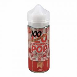 Mad Hatter - 120 Strawberry Pop 100ml