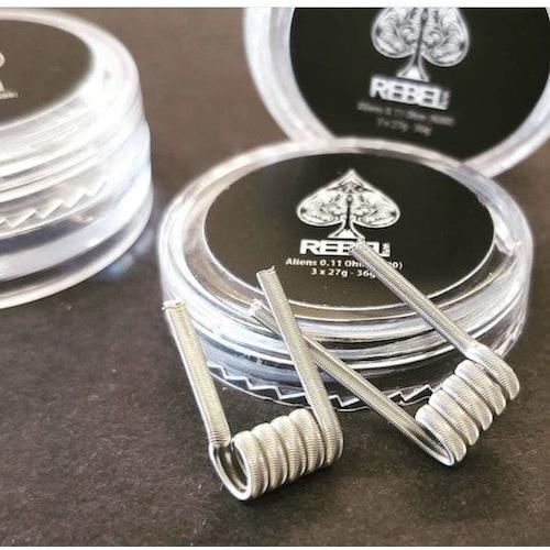 Rebel Coils 2 Pack - FRAMED STAPLE 0.15 Ohms  (Handmade)