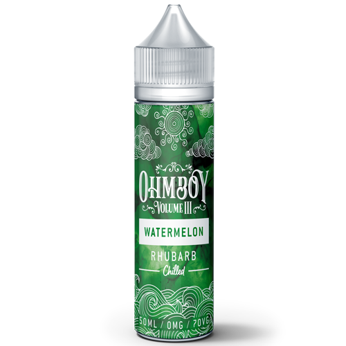 Ohmboy Volume 3 - Watermelon & Rhubarb - 50ml Shortfill