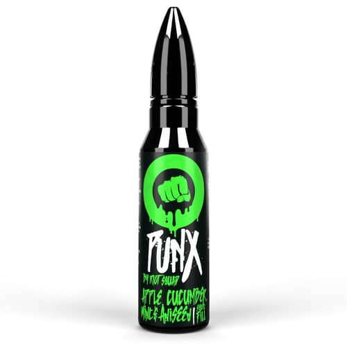Punx Apple, Cucumber Mint and Aniseed By Riot squad