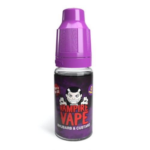 Vampire Vape - Rhubarb & Custard 10ml