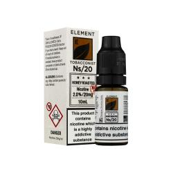 Element NS20 Nic Salt - Honey Roasted Tobacco 20mg - E liquid 10ml