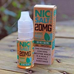Flawless Nic Salt - Classic Mint 20mg - E liquid 10ml