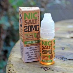 Flawless Nic Salt - Smoothly Rich Tobacco 20mg - E liquid 10ml